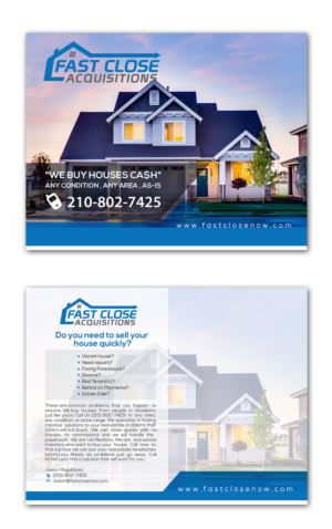 61 Serious Modern Real Estate Postcard Designs for a Real Estate ...