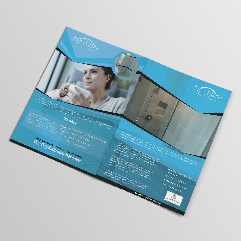 brochure design by technotecdesign for niche glass company needs brochure design 12782589 - Mirrorcle Frames
