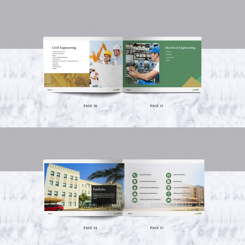 Serious, Modern, Construction Company Brochure Design for a