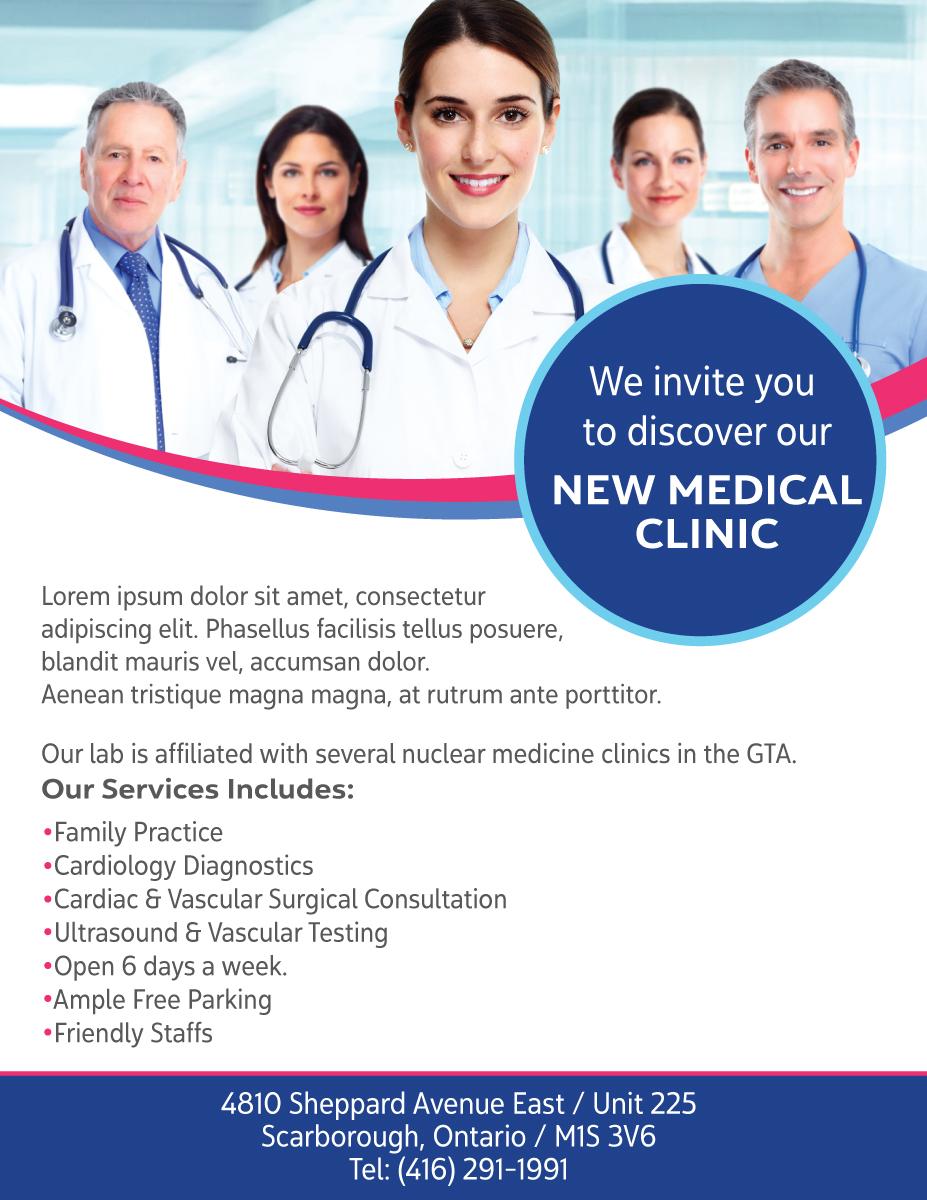 Upmarket, Professional, Medical Flyer Design for AMS
