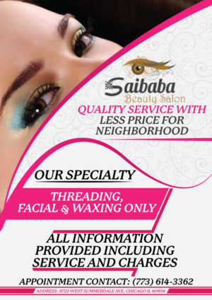 Flyer Design 12788720 Submitted To Saibaba Beauty Salon Closed