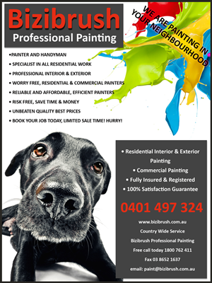 Painting Flyer Design Galleries for Inspiration