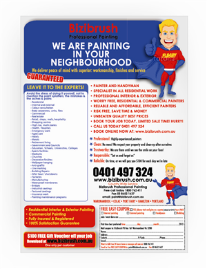 29 Professional Painting Flyer Designs For A Painting