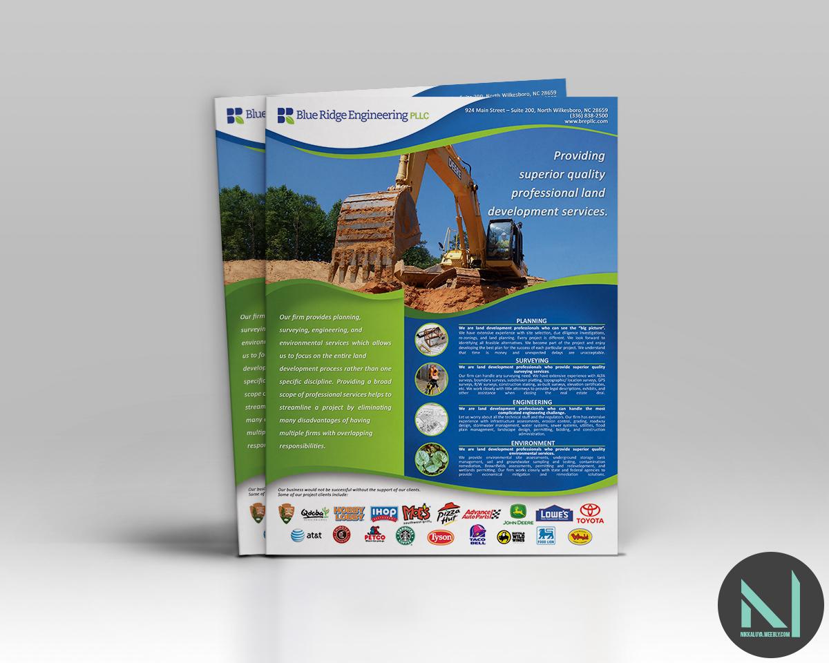 Land Development Brochure : Serious professional brochure design for neil shepherd by