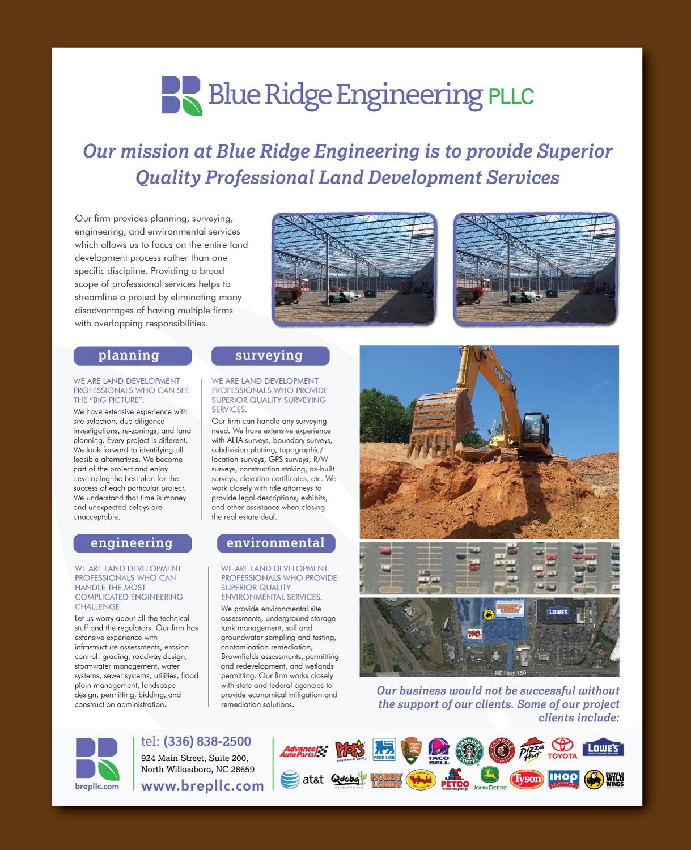 Land Development Brochure : Serious professional real estate development brochure