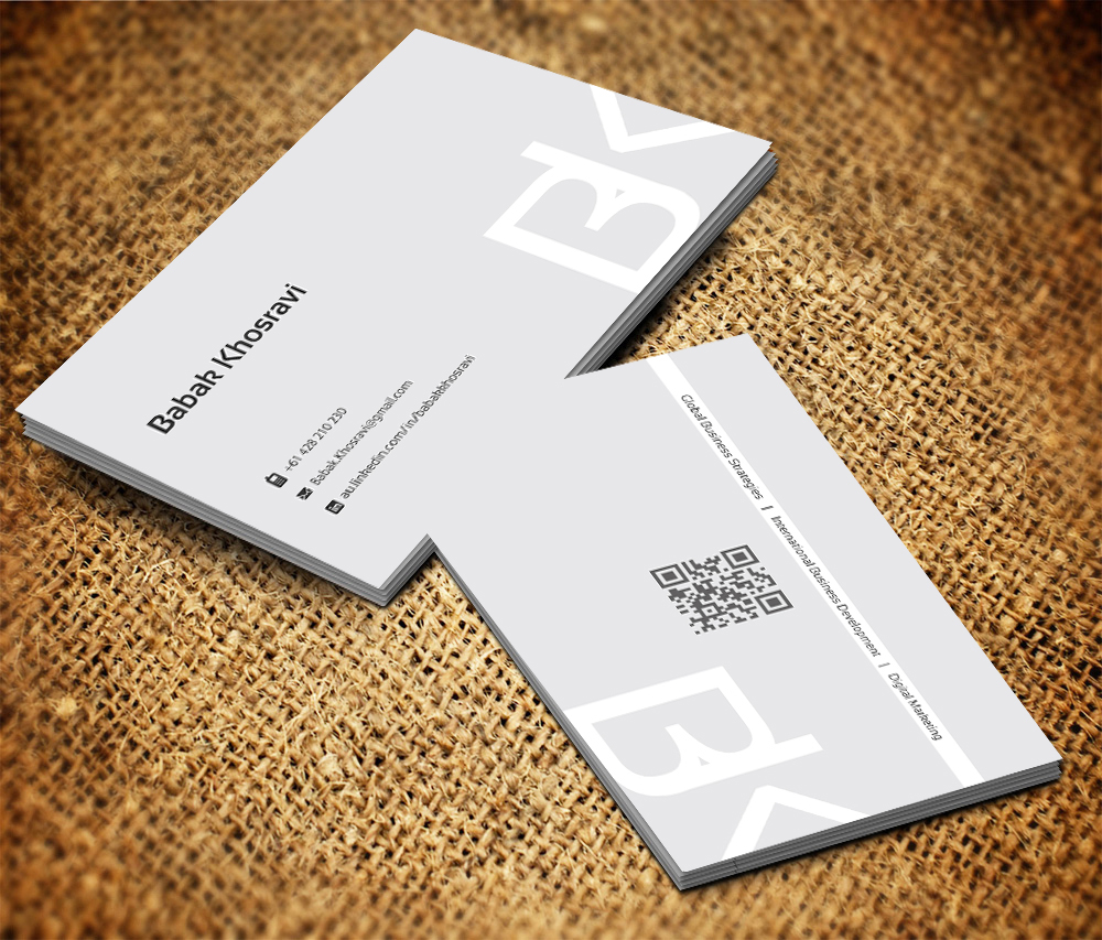 Business Card Design By Gtools For Job Seeker Professional 2494179