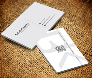 43 professional business card designs for a business in australia business card design design 2511584 submitted to business card for job seeker professional reheart Images