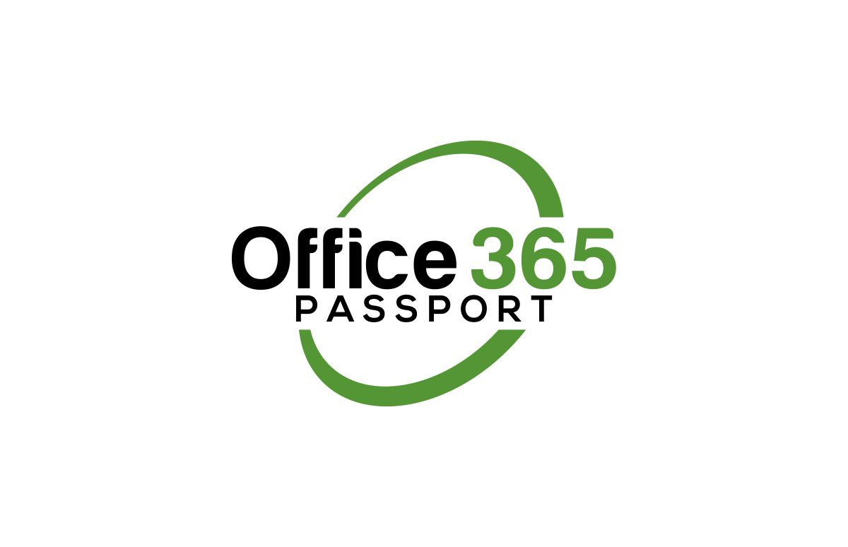Bold, Modern, Computer Training Logo Design for Office 365 Passport
