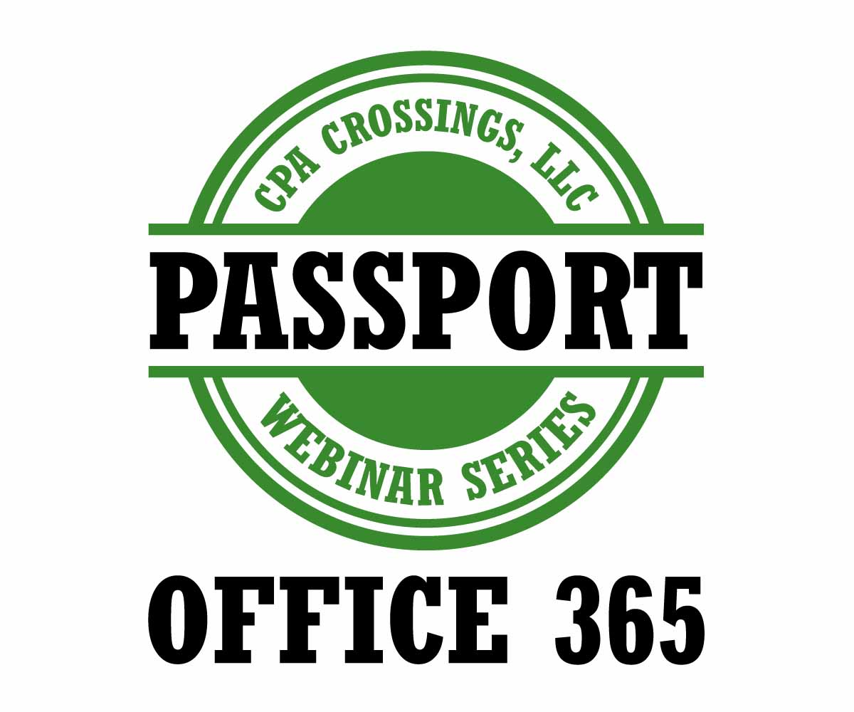 Bold, Modern, Computer Training Logo Design for Office 365 Passport