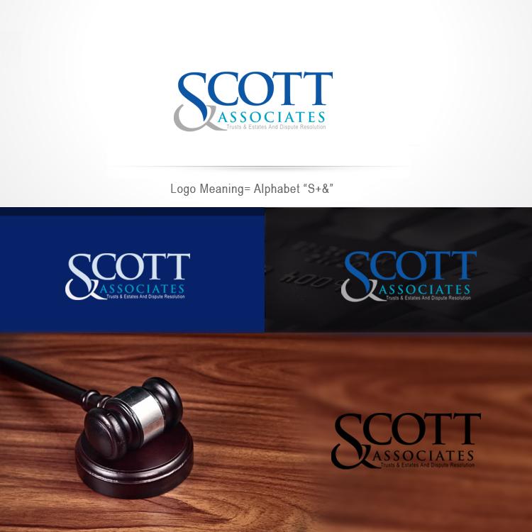 Upmarket, Elegant, Legal Logo Design for Patricia Scott Law