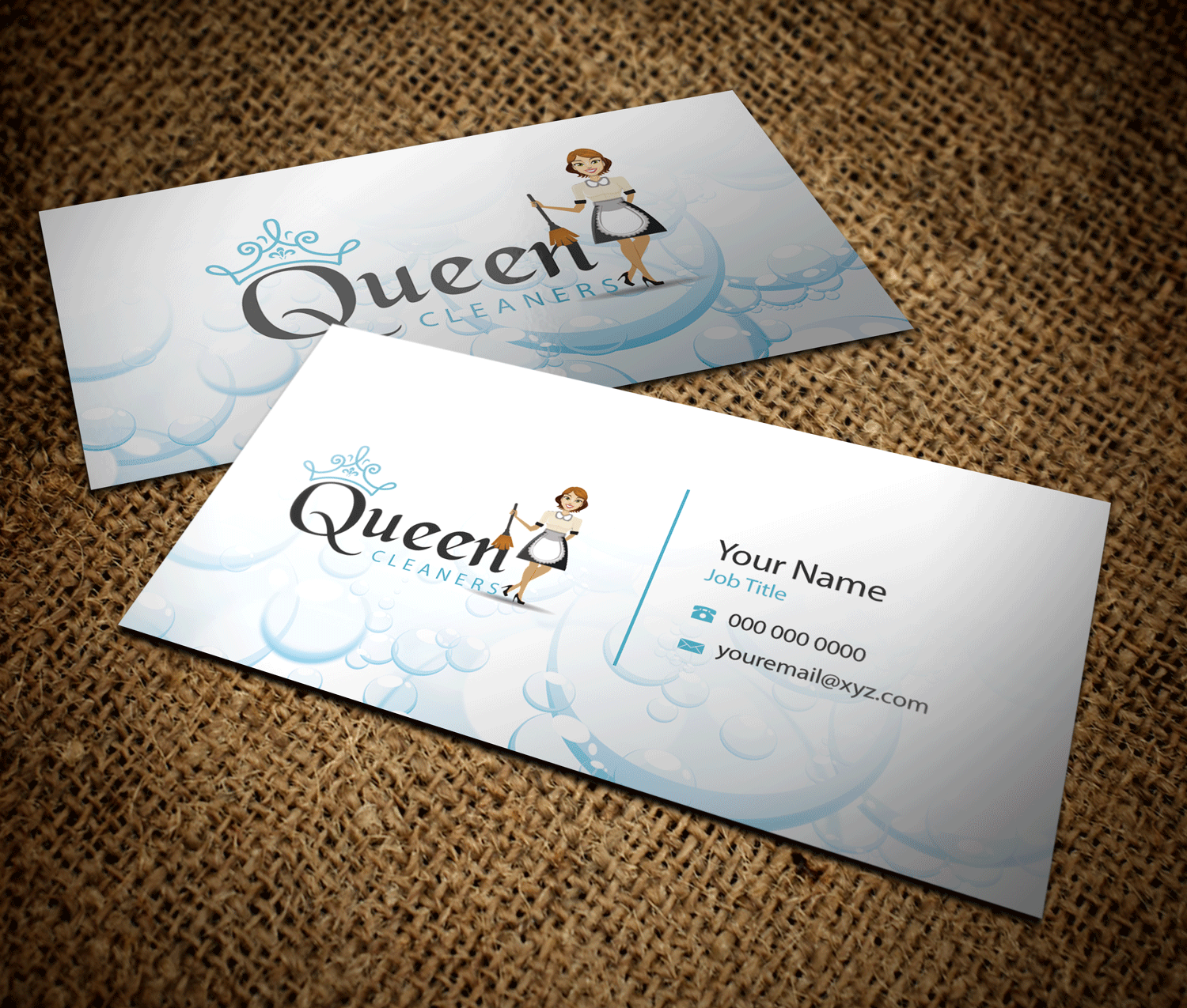 masculine professional business card design for southern superior