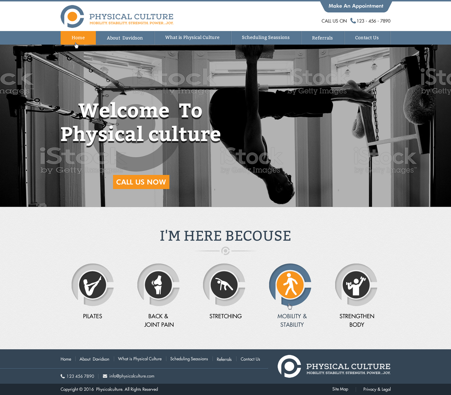 Homepage Designer serious web design for digital inc by sbss