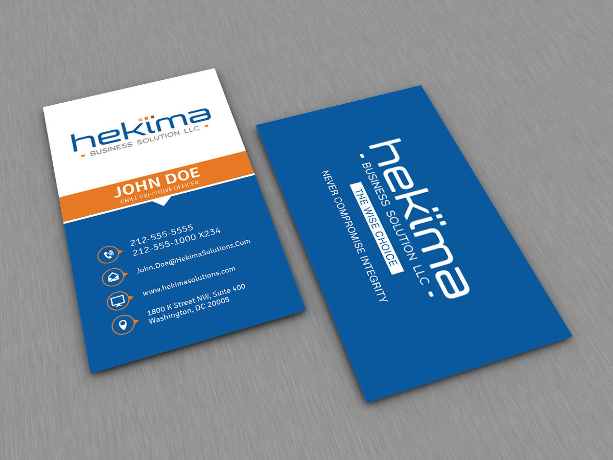 4 modern business card designs business card design project for a business card design by jlg studios for this project design 12865652 reheart Gallery