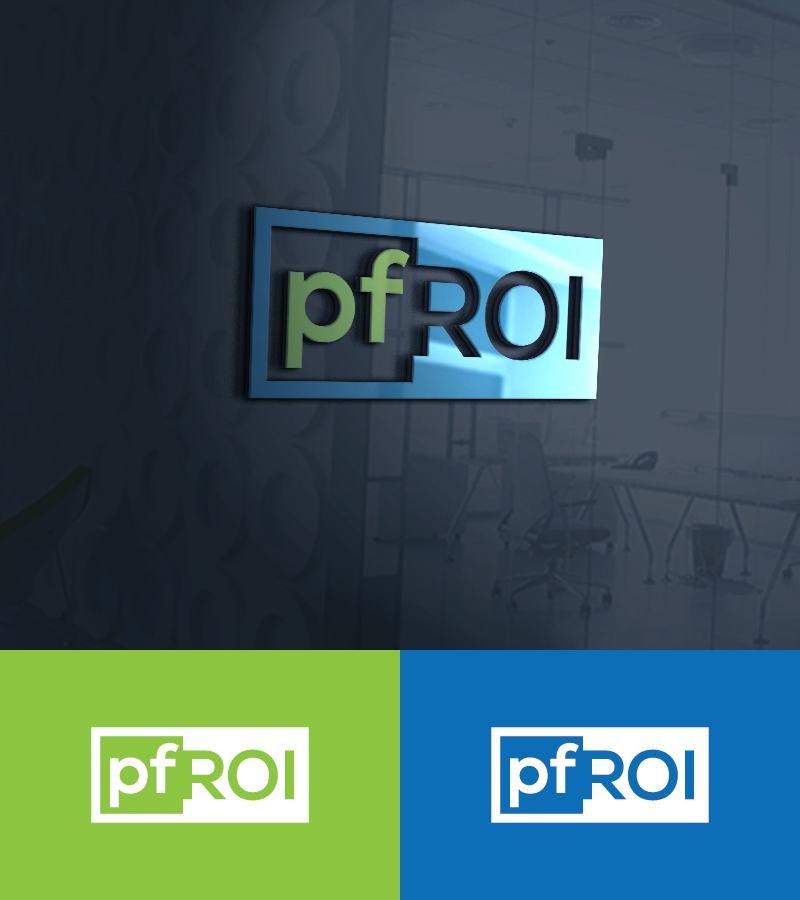 Tremendous Serious Modern Financial Logo Design For Pfroi By Si Home Interior And Landscaping Ologienasavecom