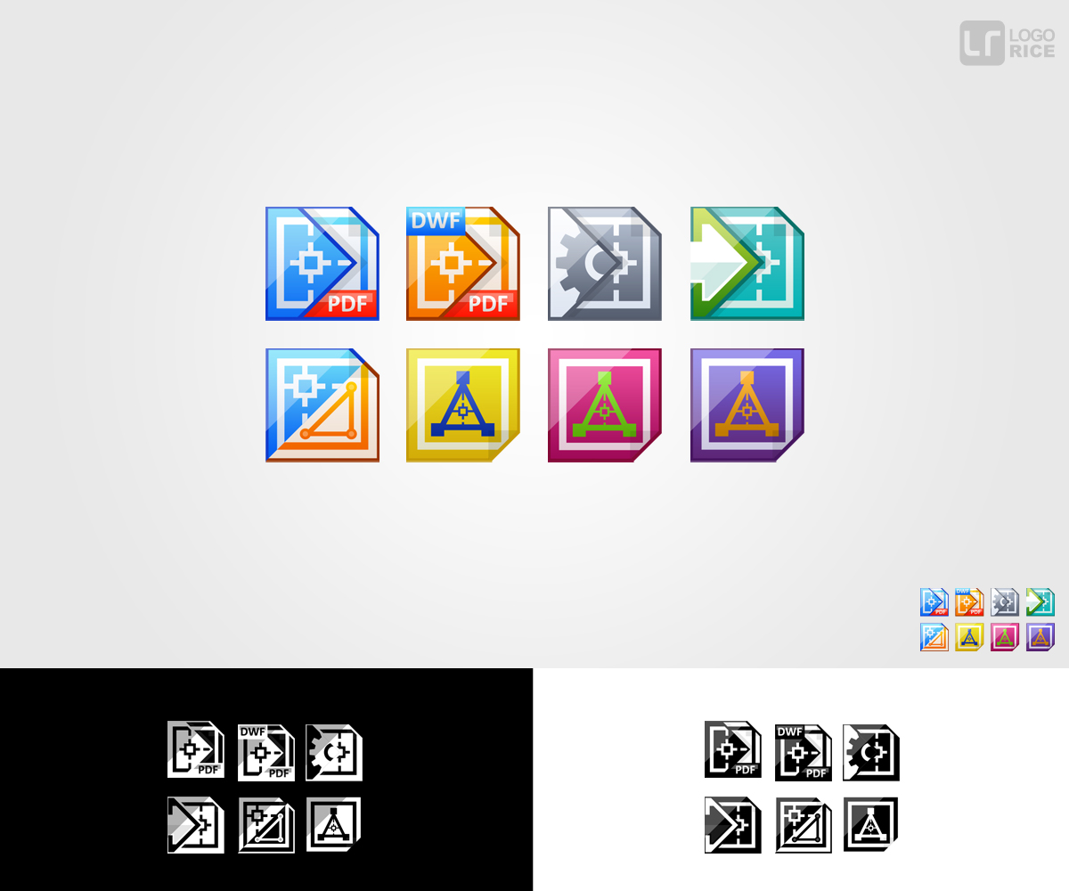 Elegant Playful Software Vector Design For Cadzation By