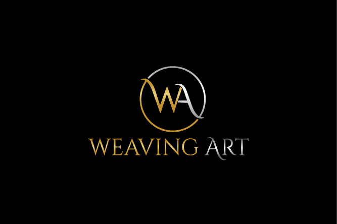 Elegant, Serious, Textile Logo Design for WA - Weaving Art