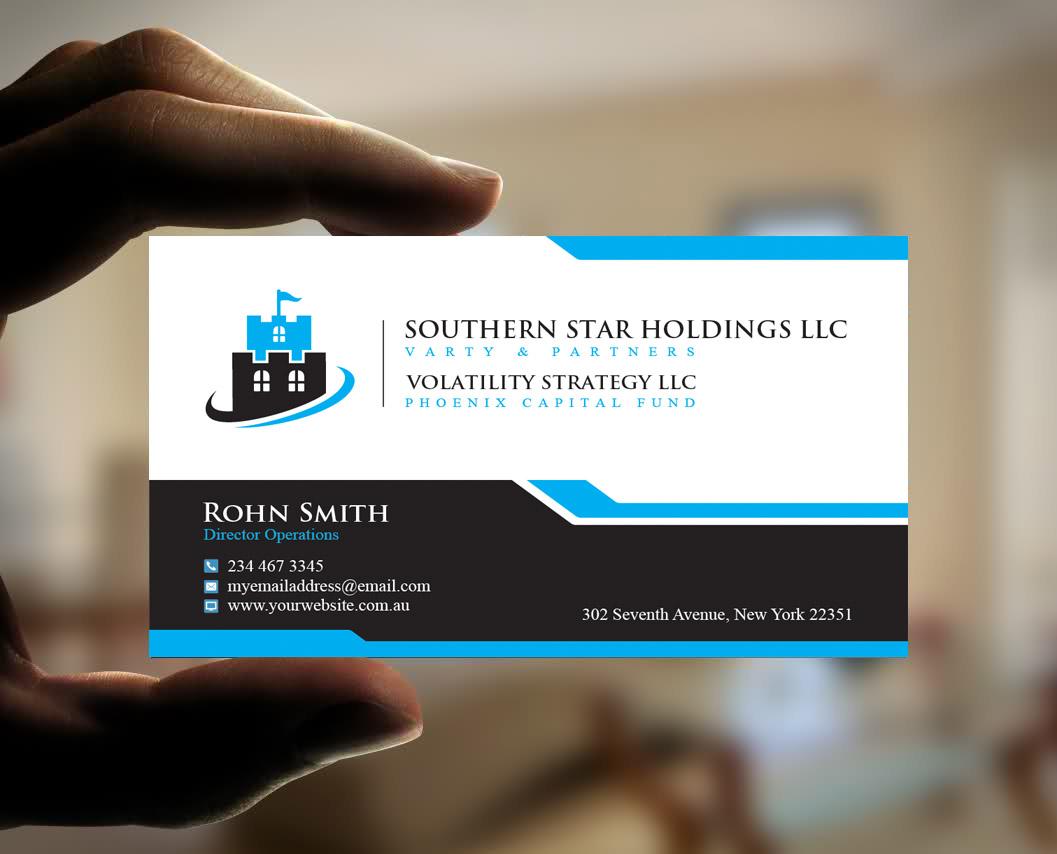 Upmarket, Elegant, Business Business Card Design for Southern Star ...