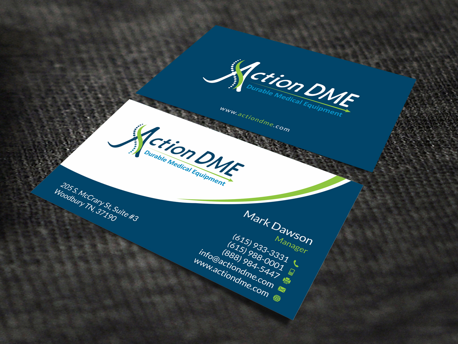 288 Professional Business Card Designs | Medical Equipment Business ...