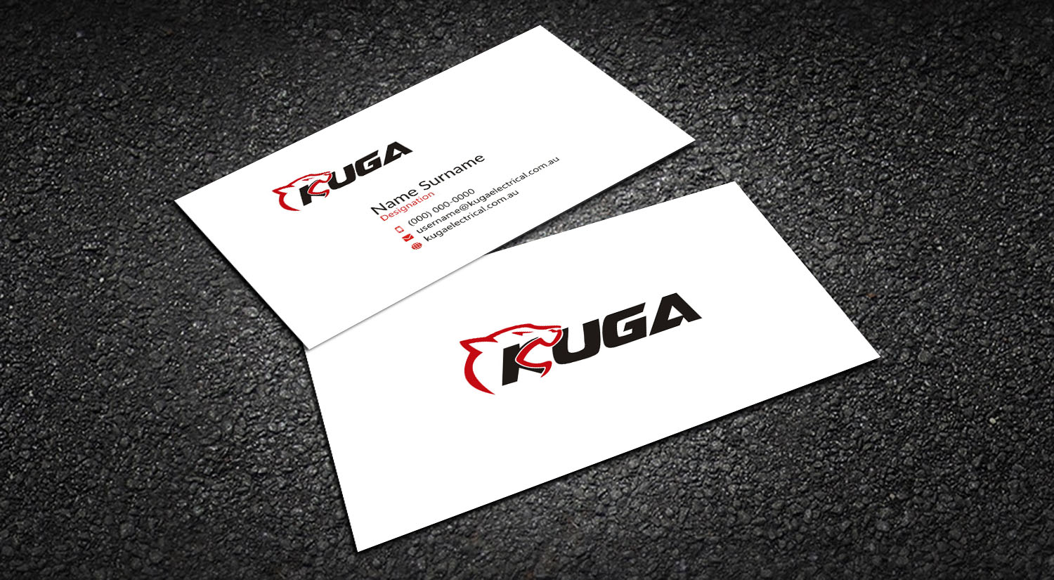 Professional, Upmarket, Commercial Business Card Design for a ...
