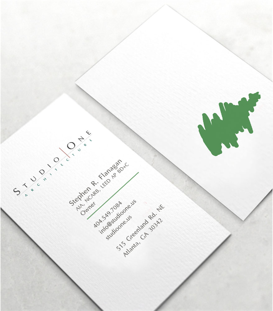 Business Card Design By CREATIVE DESIGN For Studio One Architecture