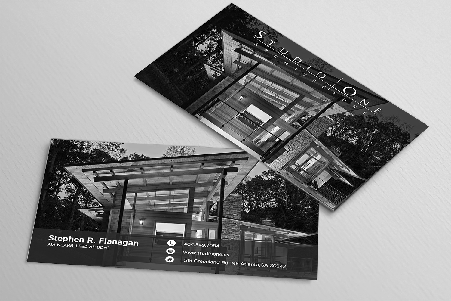business card design by avde17sharif for studio one architecture design 12973490 - Architect Business Card