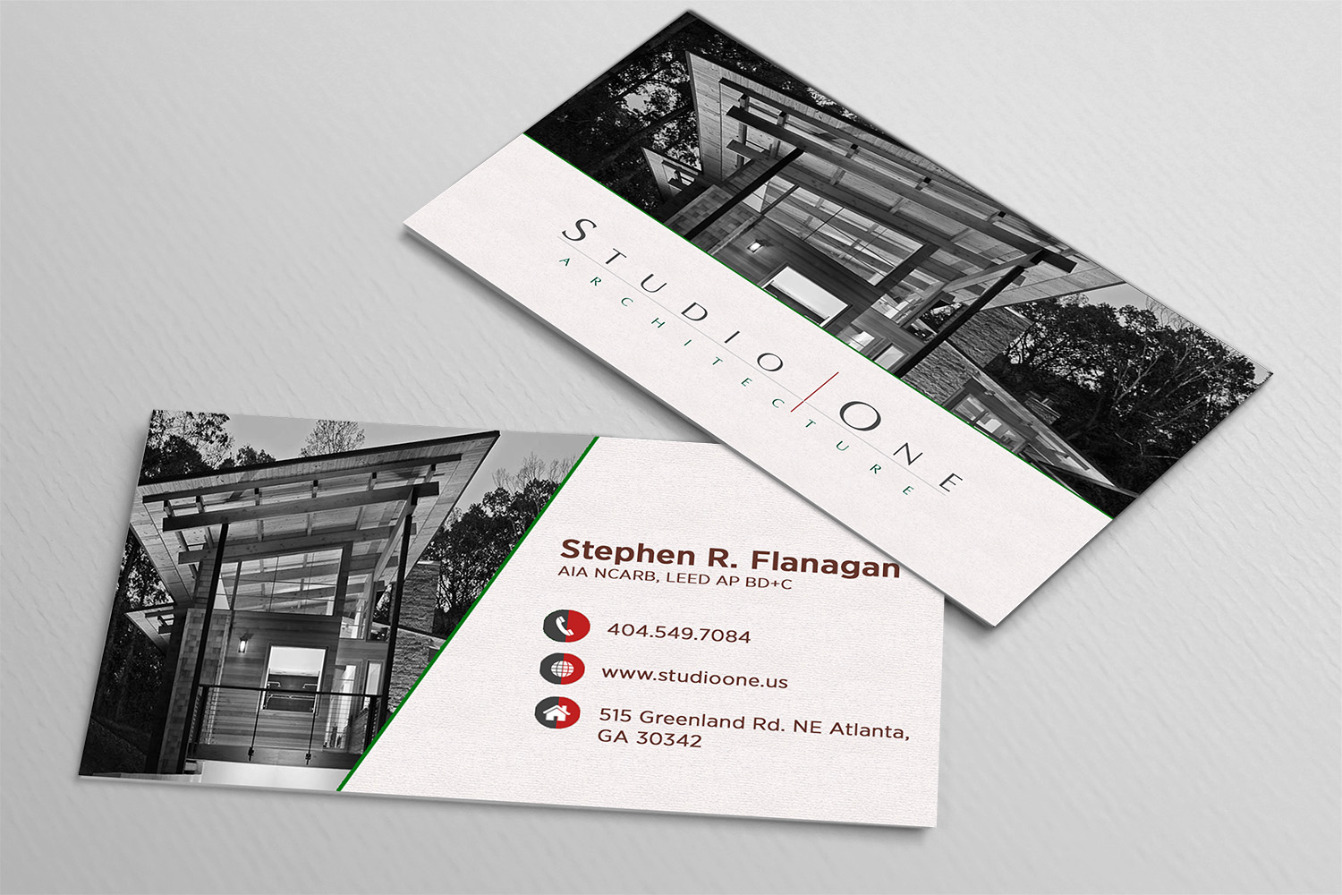 Design De Carte Visite Par Avde17sharif Pour Studio One Architecture