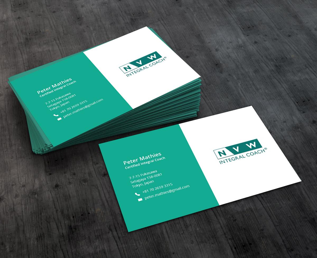 Design De Carte Visite Par AbyJohns Pour Self Employed