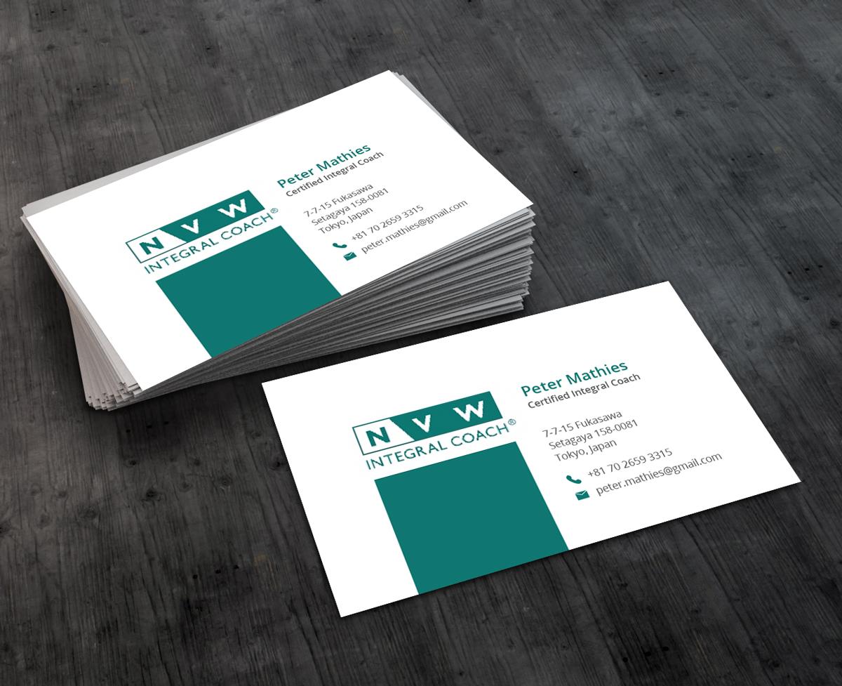 Elegant, Professional, Life Coaching Business Card Design for self ...