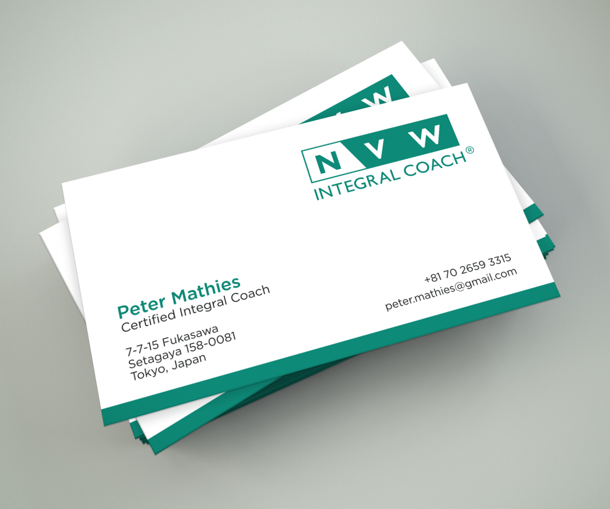Elegant, Professional, Life Coaching Business Card Design for self ...
