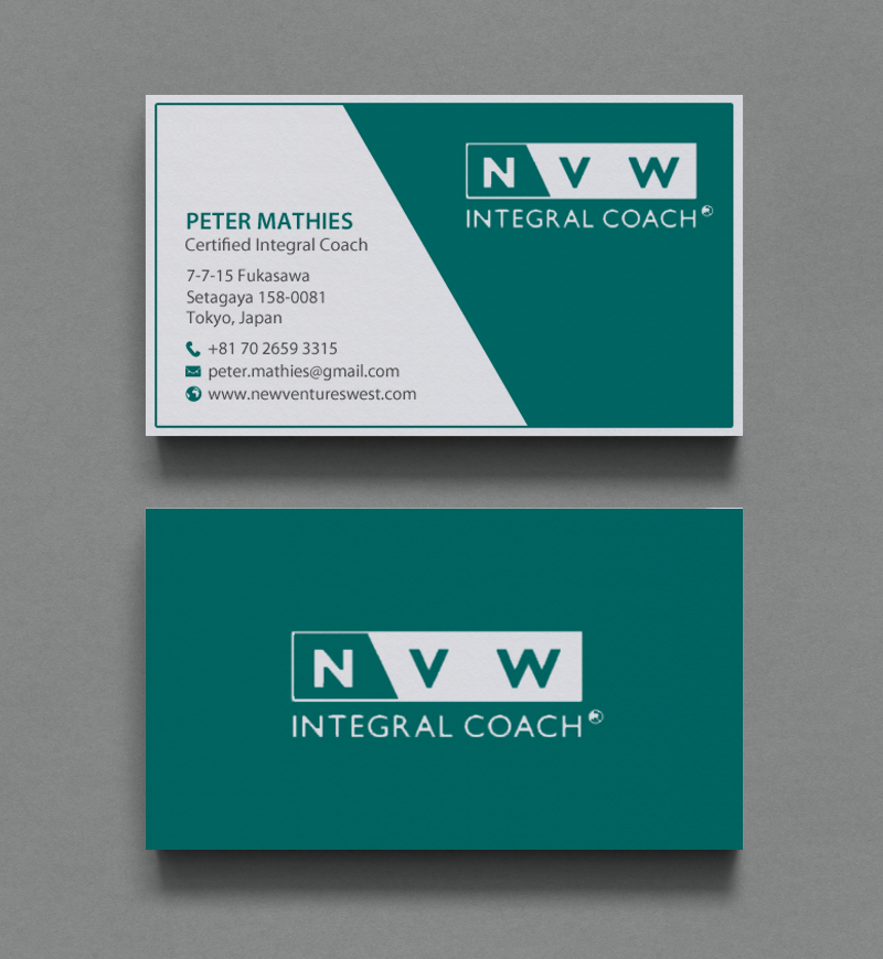 Elegant, Professional Business Card Design for self-employed by ...