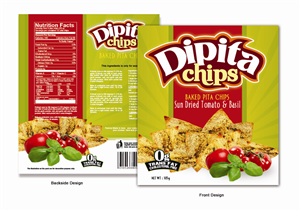Packaging Design job – Packaging Design for Pita Chips – Winning design by Eddiey