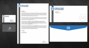 Letterhead Design By Madhuraminfotech For Revived Exteriors Inc