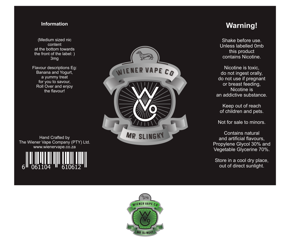 Label design by suryokusumo for wiener vape company pty ltd design