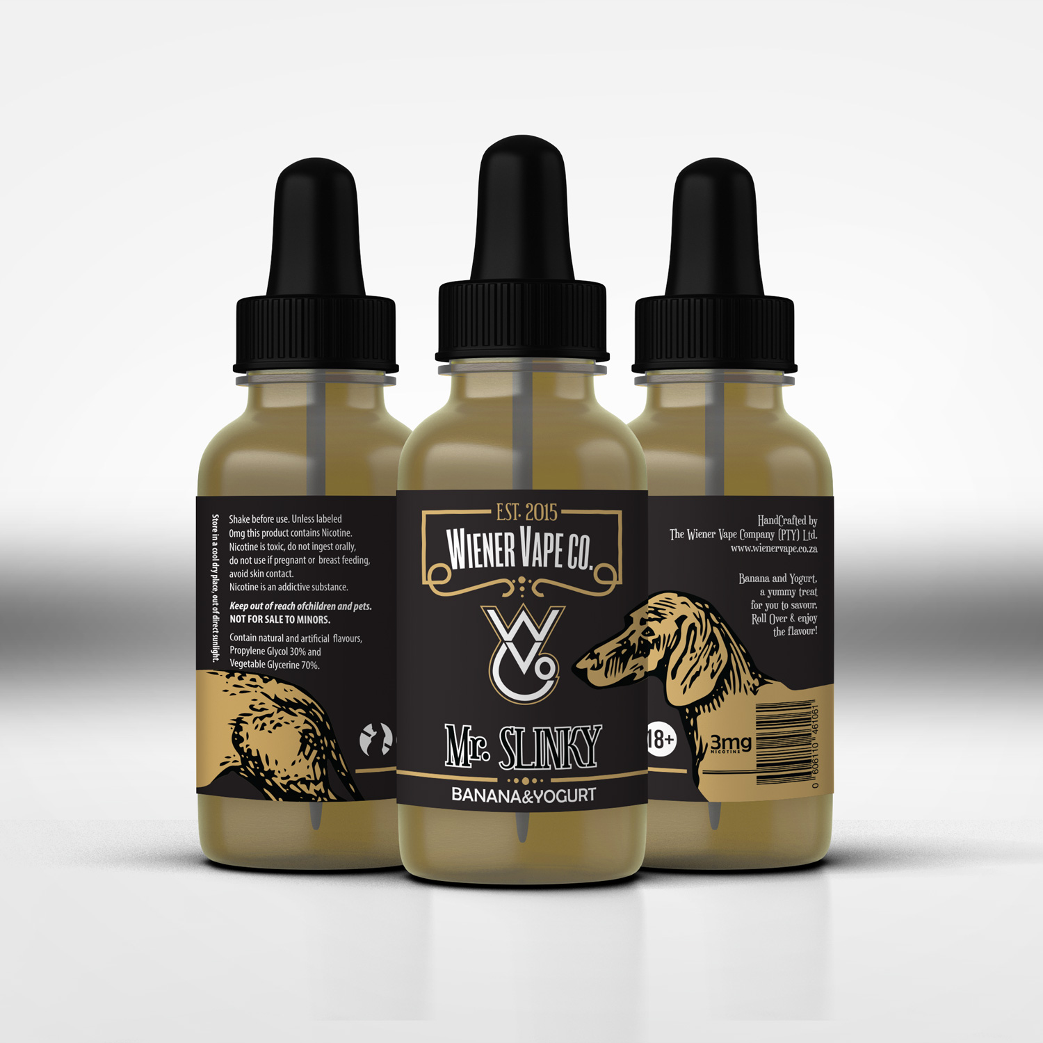 E liquid vape company needs label design for re brand