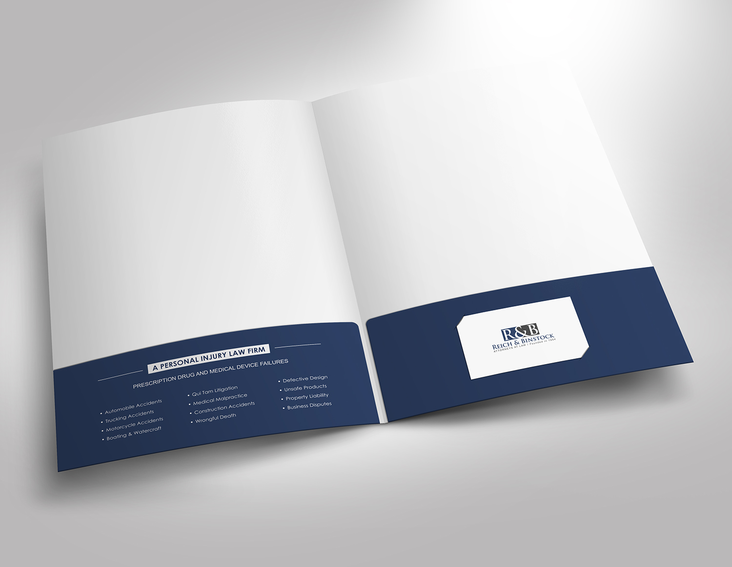 serious professional law firm stationery design for web visibility