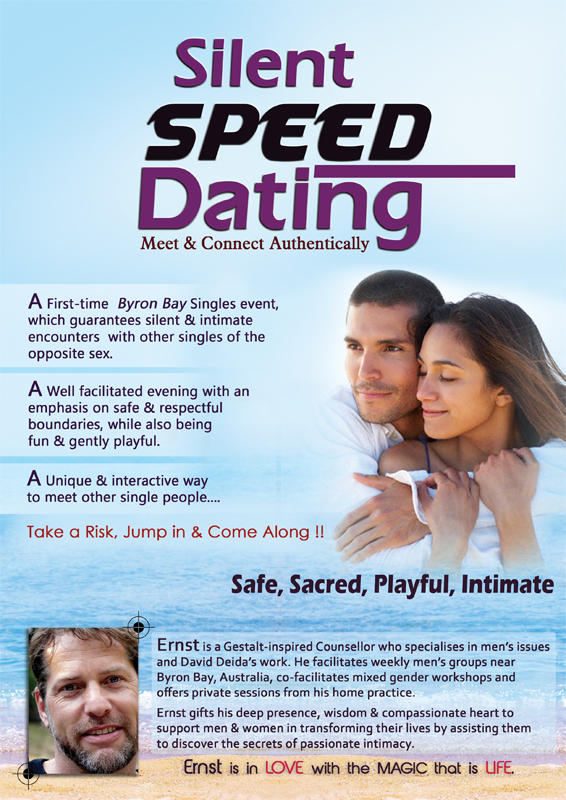 silent speed dating byron bay