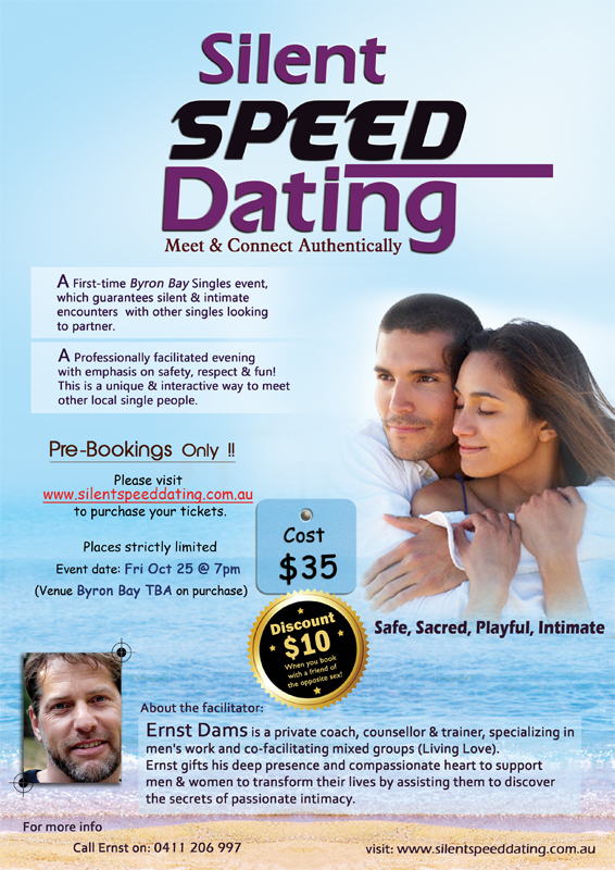 speed dating poetry Promotion agency is looking for model in play age 20-30 years for poetry/speed-dating-event in berlin (germany.