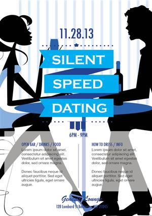 Flyer speed dating