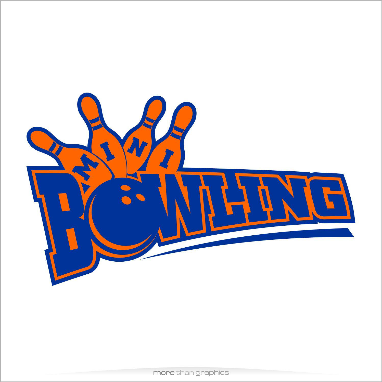 elegant playful logo design for mini bowling by vladst2004 design rh designcrowd com bowling logos designs bowling logos designs
