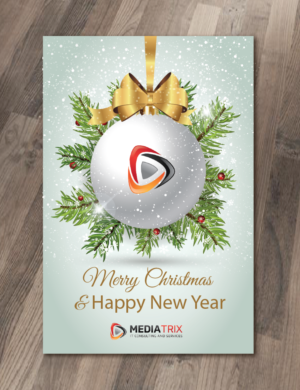 Serious elegant greeting card design job greeting card brief for greeting card design job urgent christmas greeting card for it company winning design by m4hsunfo
