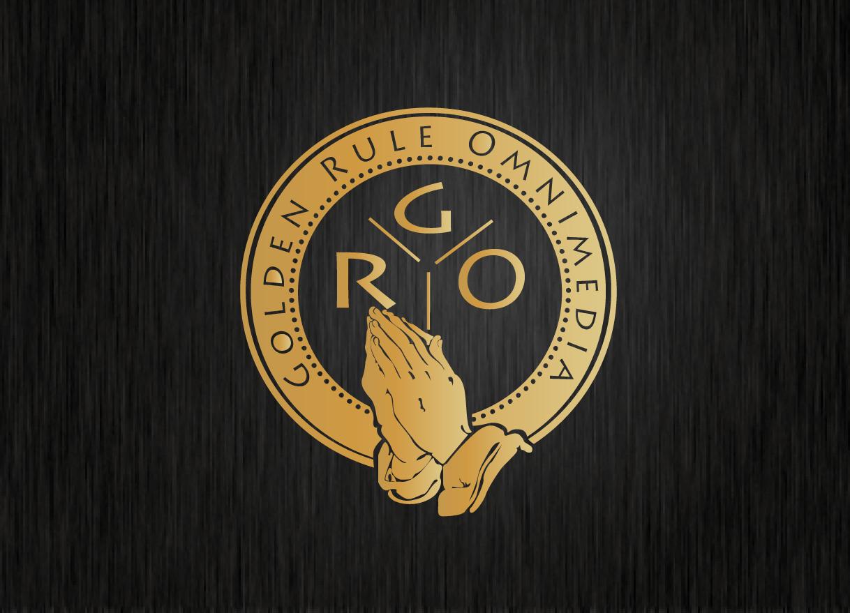 Modern Bold Media Logo Design For Golden Rule Omnimedia Or Gro As