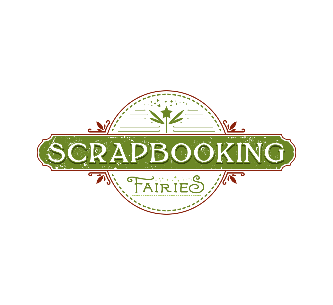 Scrapbooking Retail Store Logo by Rudy Graph