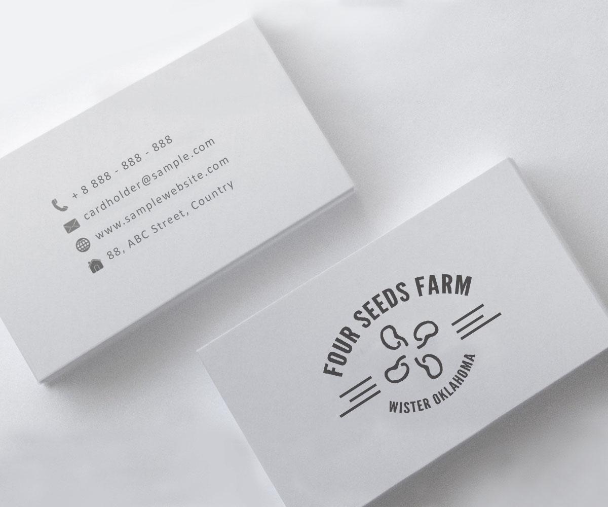 Elegant, Traditional, Farming Logo Design for Four Seeds Farm Wister ...