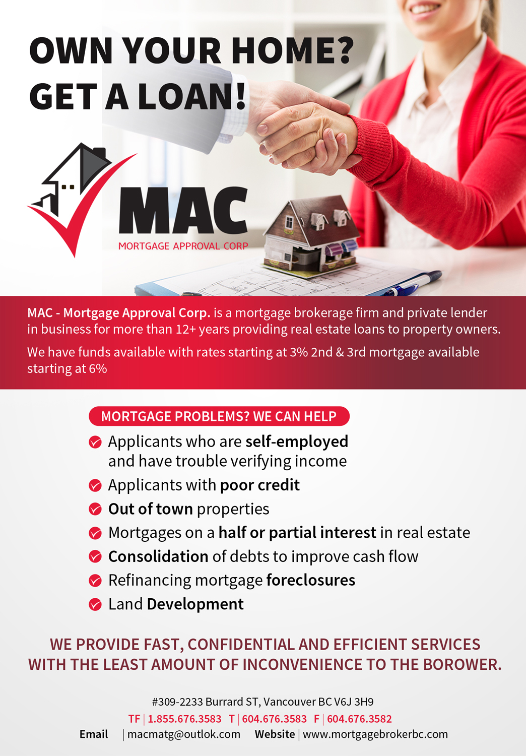 Bold, Modern, Mortgage Flyer Design for IMSEO by Gfx.26