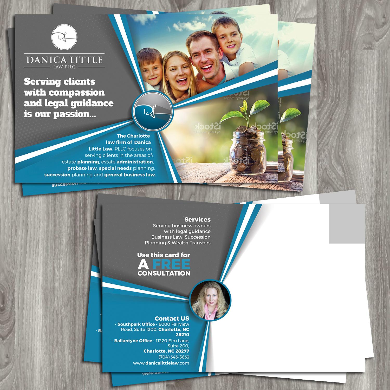Serious, Professional Postcard Design for Danica Little Law, PLLC ...