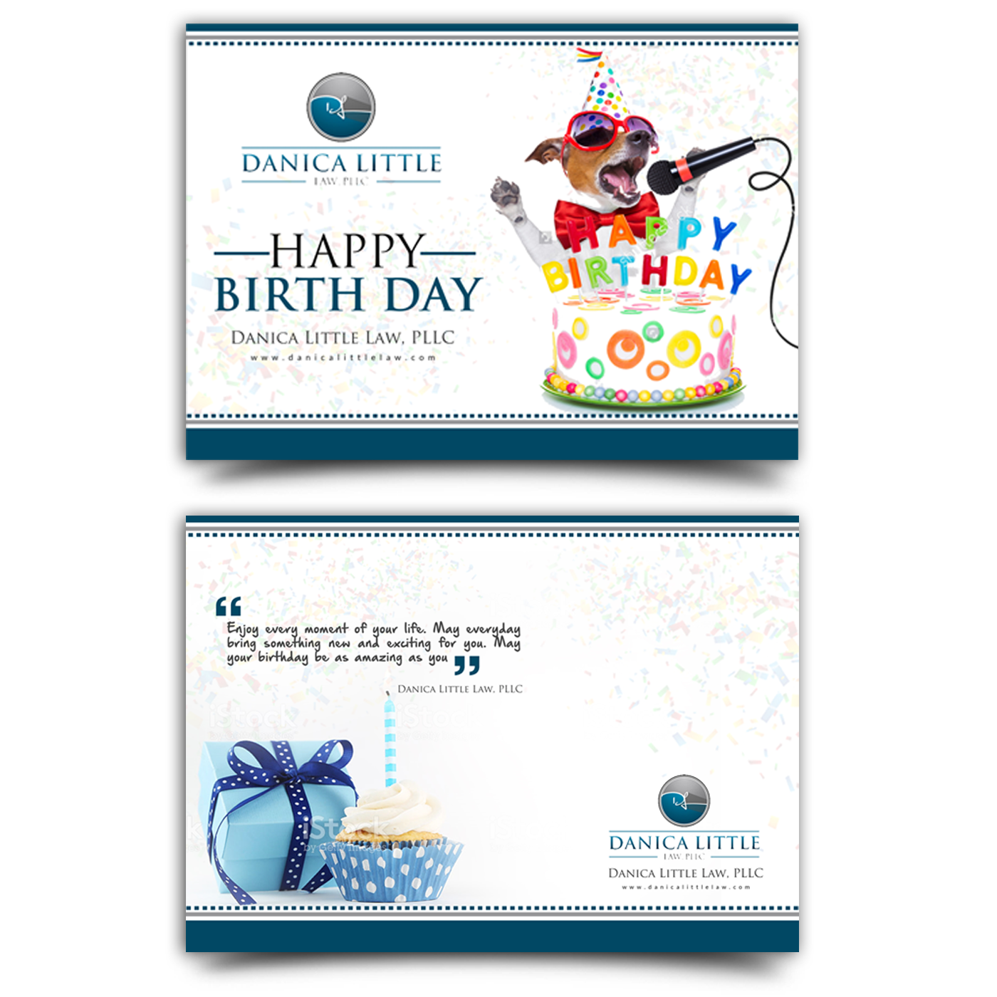 Greeting Card Design By Creativebugs For Danica Little Law PLLC