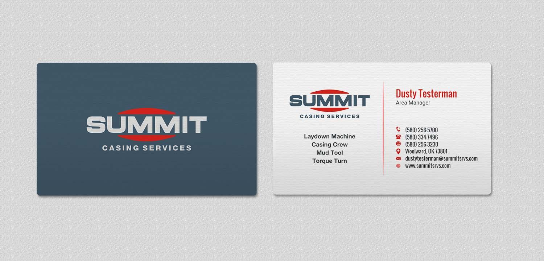 Professional, Masculine Business Card Design for Mitchel Hansen by ...