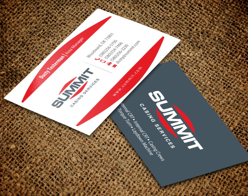 238 Professional Masculine Oil And Gas Business Card Designs for a ...