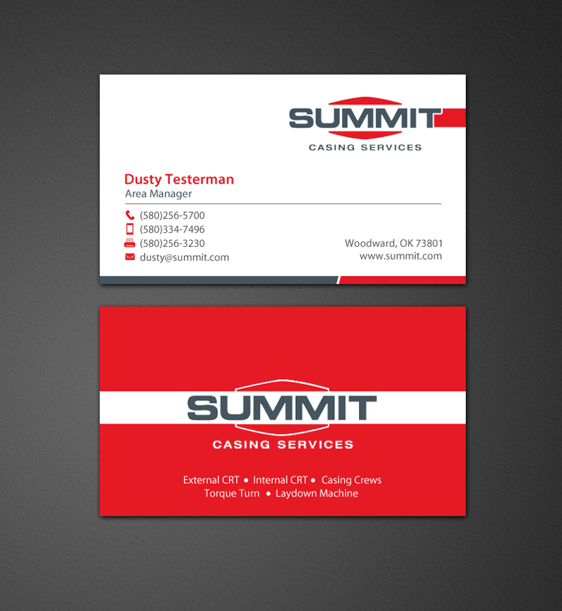 235 Professional Business Card Designs | Oil And Gas Business Card ...