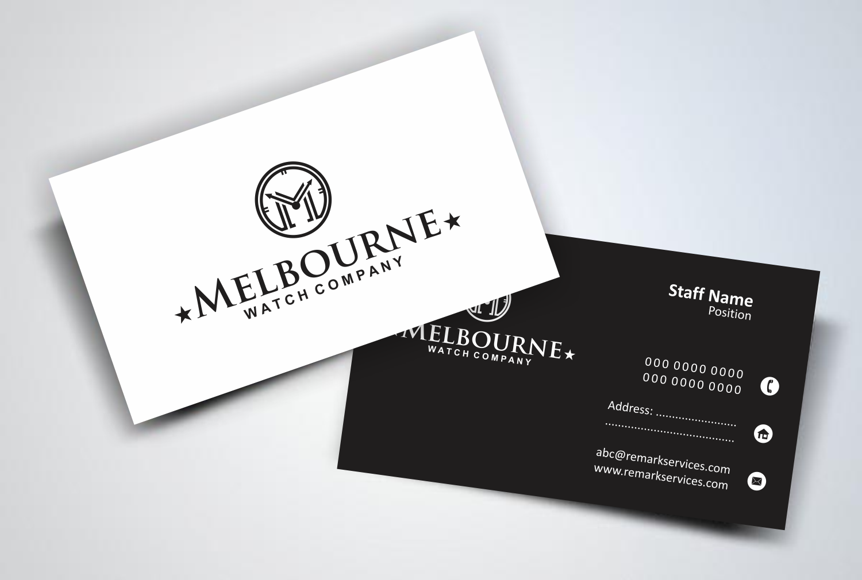 Logo design and business cards